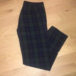 Brooks Brothers Tartan Plaid Dress Pants 32x32